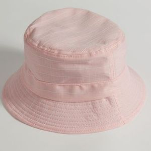 💟SWEET PINK STRIPED BUCKET HAT